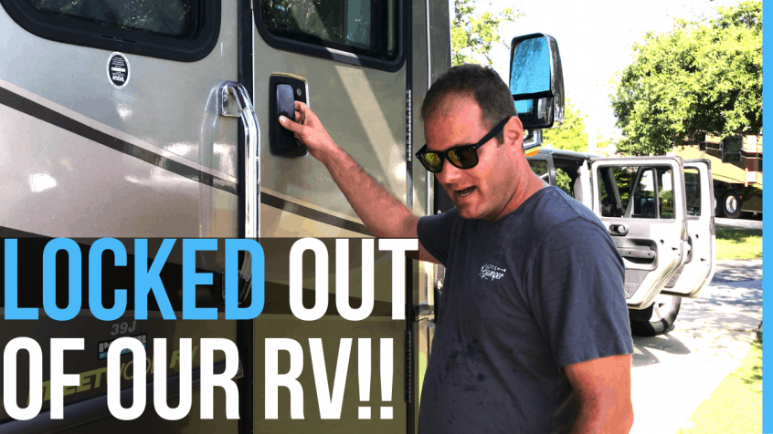 locked out of our RV