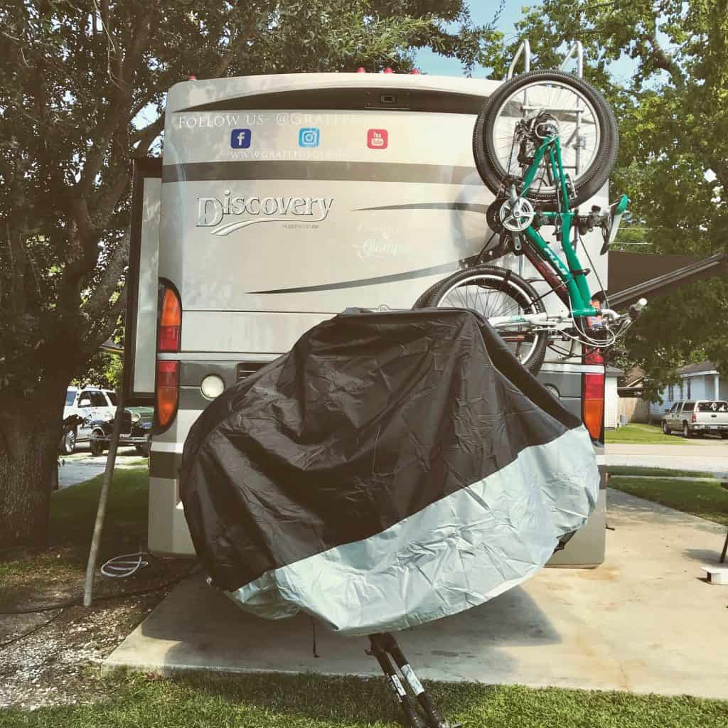 motorcycle & bicycle cover