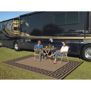 Patio rug for RV Life