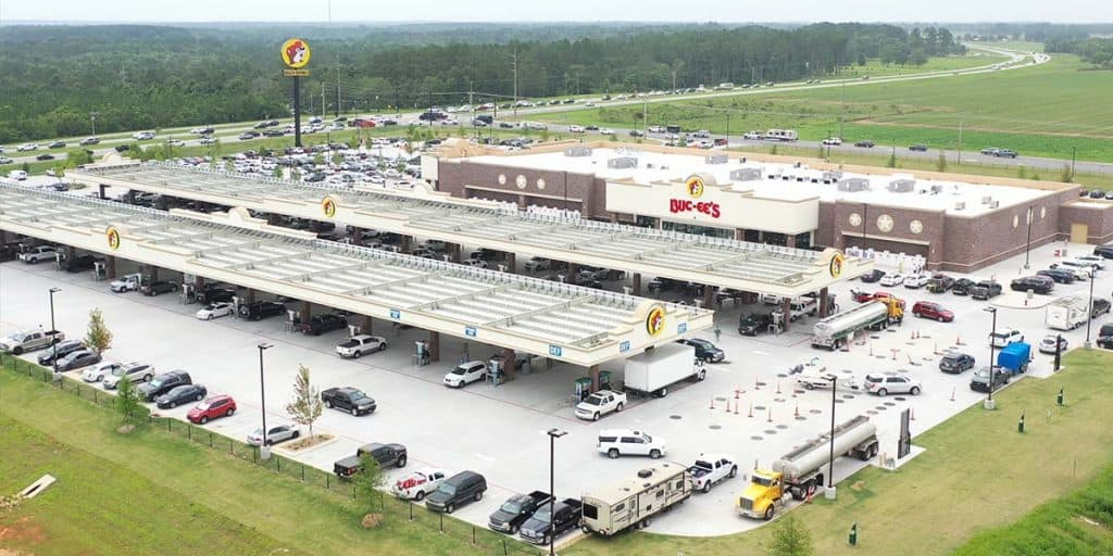 truck stop for rv fuel